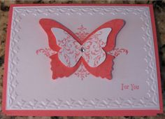 Butterfly Bliss CASE by SJh2oski - Cards and Paper Crafts at Splitcoaststampers