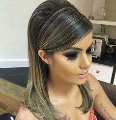 Slick Hairstyles, Formal Hairstyles, Braided Hairstyles, Wedding Hairstyles, Hair Due, My Hair, Medium Hair Styles, Short Hair Styles, Hair Upstyles
