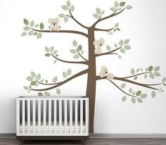 Koala Wall Decal (http://blog.hgtv.com/design/2013/07/18/daily-delight-koala-wall-decal/?soc=pinterest)