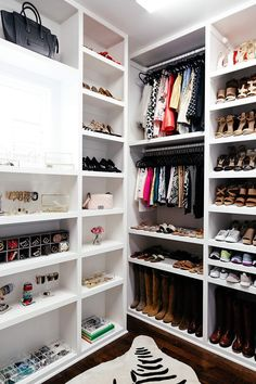 brighton keller new home closet reveal organization