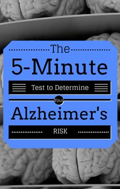 Dr Oz and Max Lugavere shared the quick at-home test you can take to determine your Alzheimer's risk and potentially delay the devastating effects of dementia.