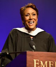 """""""Don't worry about the fear factor. Everybody in here has felt it and will feel it. It is something that you have to realize that if you wait for it to pass you're going to be sitting on the sidelines for a very long time."""" – Journalist Robin Roberts at Emerson College"""