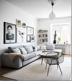 interior design, scandinavian style, nordic style / stile scandinavo [piccoli spazi] mini appartamento in casa d'epoca