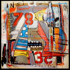 Lyle Schultz's paintings are an expressionist maelstrom of images, cartoon madness and pop art motifs running rampant in vibrant colours and bold mark making Vibrant Colors, Colours, Selling Paintings, Mark Making, Illustration Art, Fine Art, Cartoon, Artist, Image