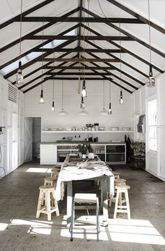country kitchen / dining