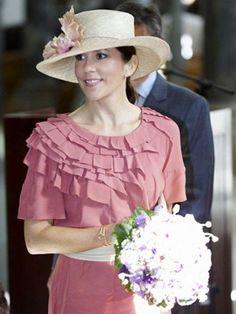 Crown Princess Mary, September 18, 2009 in Susanne Juul |Royal Hats