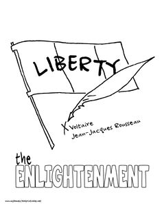 World History Coloring Pages Printables the Enlightenment