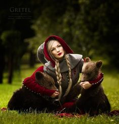 FairyTale Scenes Captured In The REAL World With REAL Animals By - Photographer captures fairytale like portraits women animals