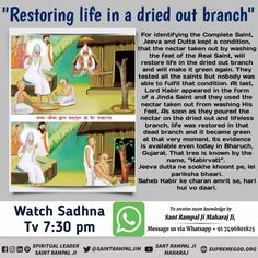 Sai Baba Miracles, Kabir Quotes, Sa News, Sathya Sai Baba, Bhakti Yoga, Miracle Morning, Dry Plants, Books To Read Online, Water Flow