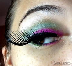 Sailor Jupiter inspired make up by http://www.sweetcherry.de/2012/10/look-make-up-dreamz-sailor-jupiter.html