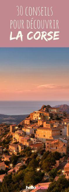30 conseils pour découvrir la Corse ! #voyage #france #plage #randonnées #corse #vacances