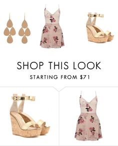 """""""Untitled #50"""" by matty1167 on Polyvore featuring Gianvito Rossi, Lipsy and Irene Neuwirth"""