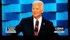Joe Biden at #DNC2016. #JoeBiden