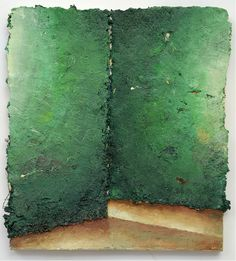 Matthias Weischer. Spalt (Gab), 2013. Oil on canvas, 45 x 40 cm