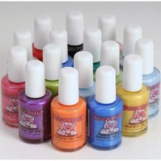Piggy Paint Natural Non-Toxic Nail Polish.  Piggy Paint is a natural, eco-friendly nail polish designed for fancy girls. Its non-toxic, hypoallergenic formula makes it safe to use on all piggies! Shop Online: Applause Toy Store #eco