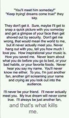 This is how i feel. :( I am so freakin depressed right now. I want someone to talk to. I am depressed because its my dream to meet 5sos but I know it won't happen. @lukehemmo5sos @micheal5sos
