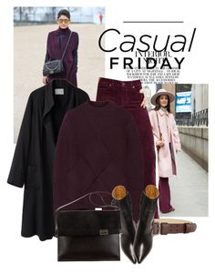 on casual friday by black-eclipse-red-sky on Polyvore featuring polyvore, fashion, style, Carven, La Garçonne Moderne, Paige Denim, Isabel Marant, Maison Margiela, Max Studio and clothing