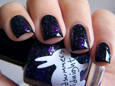 nails | HARE polish: Midsummer's Midnight <3