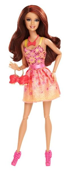 Barbie Fashionista Teresa Doll * Check out this great product. Mattel Barbie, Mattel Shop, Barbie And Ken, Manequin, Barbie Website, Barbie Fashionista Dolls, Poppy Parker, Bjd, Barbie Friends