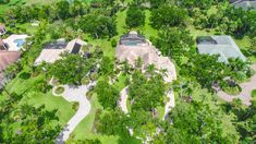 Drone photo of Florida landscape design Palm Coast, Sky View, Service Design, Landscape Design, Golf Courses, Florida, Gallery, Roof Rack, Landscape Designs