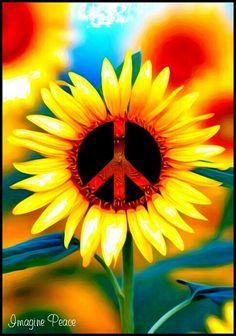 Peace Sign Art ✌❤🤗                                                                                                                                                                                 Mehr