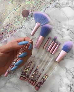 Makeup & Skin Care: The Types of Makeup Brushes you Need to Know Cute Makeup, Pretty Makeup, Makeup Style, Unique Makeup, Awesome Makeup, Stunning Makeup, Pretty Hair, Natural Makeup, Natural Beauty