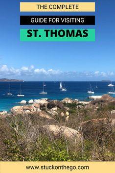 St Thomas Virgin Islands, Us Virgin Islands, St Thomas Usvi, Grenada, Where To Go, Beautiful Beaches, Delicious Food, Caribbean, Things To Do