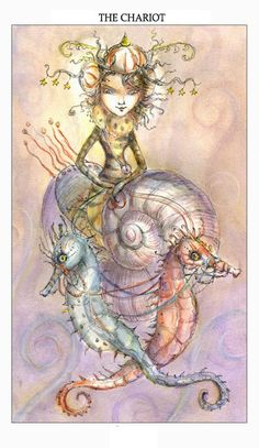 French for 'joy of living', the Joie de Vivre Tarot deck by Paulina Cassidy - I <3 her work!