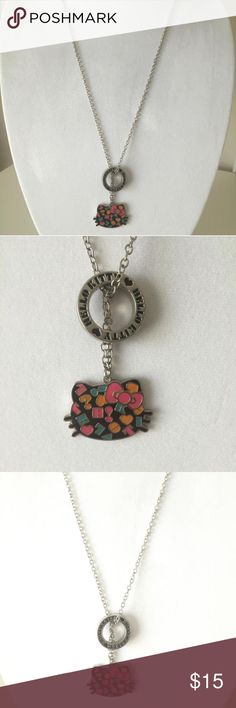 NWOT hello Kitty necklace Super fun cute summer colors and the must love hello Kitty necklace Hello Kitty Jewelry Necklaces