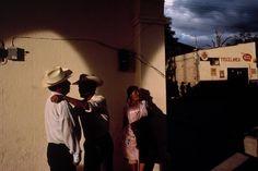 David Alan Harvey MEXICO. Oaxaca. San Andres Huayapan. 1992. Locals gather for community meeting.
