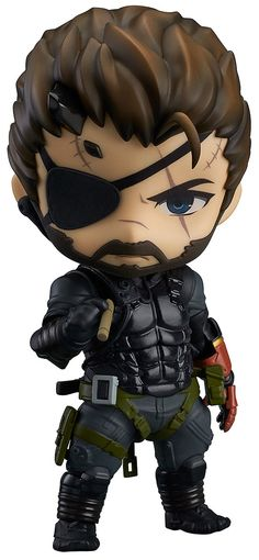 Metal Gear Solid V The Phantom Pain figurine Nendoroid Venom Snake Sneaking Suit Ver. Good Smile Company Wait... this is real... Bye bye fouds