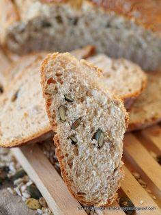 pokrojony-domowy-chleb-pszenny-drozdzowy Gastronomia, Brot, Bakken