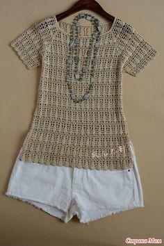 Pull Crochet, Crochet Cardigan, Filet Crochet, Crochet Bikini Top, Knit Crochet, Crochet Magazine, Crochet Woman, Models, Crochet Fashion