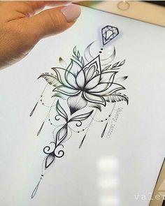 alone tatoo lotus flowers, – # mandala tattoo Trendy Tattoos, Love Tattoos, Beautiful Tattoos, New Tattoos, Small Tattoos, Tattoos For Women, Tatoos, Unalome Tattoo, Lotusblume Tattoo