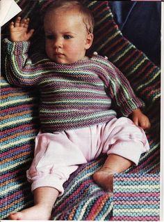 Première layette tricotée pour la rentrée des bébés .. - Le blog des Centidéalistes