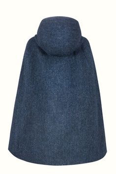 Navy Grace Hooded - Wrap yourself in the perfect wardrobe staple for Autumn through Spring, and add some swoosh to your strut. This luxurious vintage-style Navy cape in Harris Tweed is a timeless piece that will not go out of fashion. Vintage Style, Vintage Inspired, Vintage Fashion, Capes For Women, Perfect Wardrobe, Harris Tweed, Fashion Line, The Struts, Wardrobe Staples