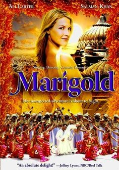 Marigold (2007) Salman Khan and Ali Larter. Hollywood meets Bollywood. If you just can't spend 3 hours reading sub-titles, this 2 hour 20 minute movie is in English.  It's been a bit since I saw this, but I seem to remember a bit of bad language (mostly near the beginning).