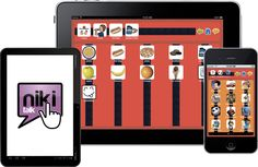 Niki Talk (Apple): Niki Talk is an easy to use and highly customizable application for AAC (Augmentative and Alternative Communication), available for iPad, iPhone and Android. Niki Talk can help all the children with autism, aphasia, cerebral palsy, down syndrome, stroke or any disability that impairs the ability to communicate.