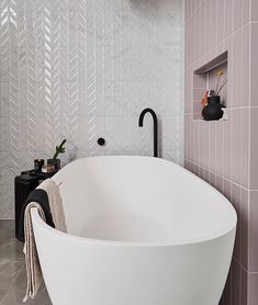 ⠀ Loving the colour scheme of 's main bathroom and how amazing is that shower?⠀ Do you think their decision to change the floor plans will pay off for them come reveal day? Mid Century Modern Bathroom, Modern Bathroom Design, Bathroom Designs, Modern Farmhouse Decor, Minimalist Bedroom, Bathroom Renovations, Bathroom Furniture, Small Bathroom, Master Bathroom