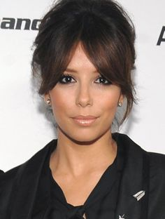 tempted to get a fringe to wear like this...