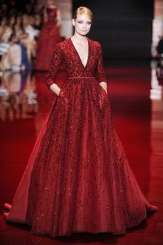 Fashion Passion Obsession: Elie Saab - Romantične haljine za jesen 2013.