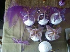 Purple Butterflies | CatchMyParty.com