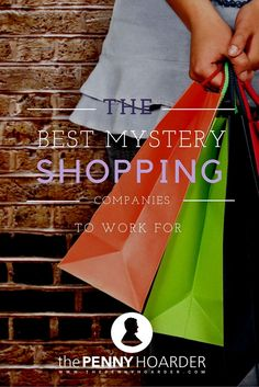 If you've looked into mystery shopping before, you know that there are a lot of scammers that are trying to take advantage of this industry's growing popularity.  I've listed only the most reputable ones! - The Penny Hoarder - http://www.thepennyhoarder.com/best-mystery-shopping-companies-to-work/ make money for christmas #christmas
