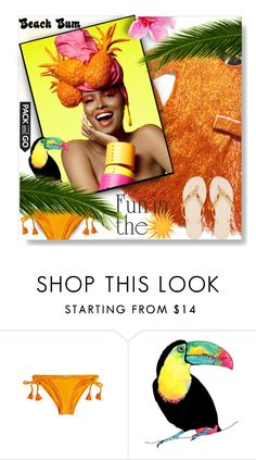 """""""Pack & Go RIO..."""" by desert-belle ❤ liked on Polyvore featuring Paolita, Havaianas, balmain, polyvoreeditorial, rio and paolita"""
