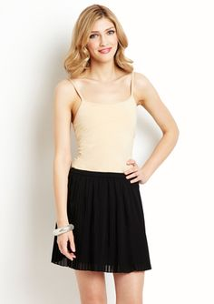 Cute & simple. . but with a tank instead cami. That would add balance - especially for the over 15 crowd (like me)