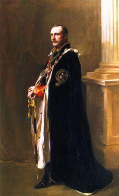 The Athenaeum - William Waldegrave Palmer, 2nd Earl of Selborne (Philip Alexius de László - )