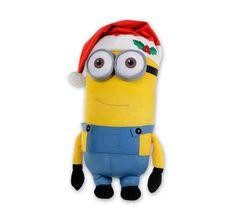 Minions Weihnachten Plüschfigur Kevin. Hier bei www.closeup.de