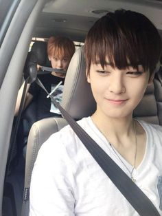 SanHa and Eunwoo ~ cutie >//<