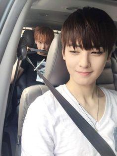 SanHa and Eunwoo ~ cutie >//<