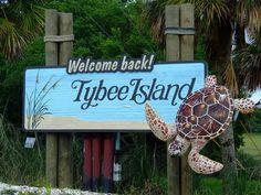 TYBEE ISLAND, GA so pretty and quaint.